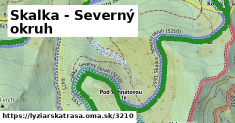 ilustračný obrázok k Biela stopa Sever