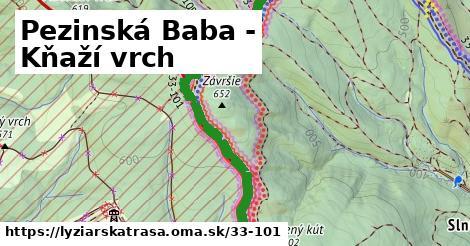 ilustračný obrázok k Pezinská Baba - Kňaží vrch