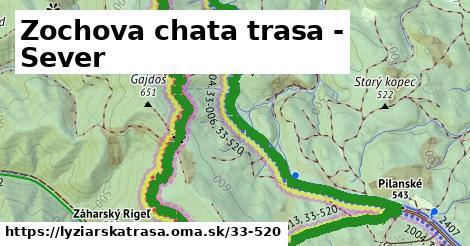 ilustračný obrázok k Zochova chata trasa -sever