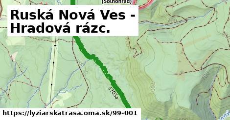 ilustračný obrázok k Ruská Nová Ves - Hradová rázc.