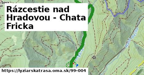 ilustračný obrázok k Rázcestie nad Hradovou - Chata Fricka
