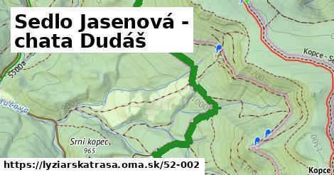 ilustračný obrázok k Sedlo Jasenová - chata Dudáš