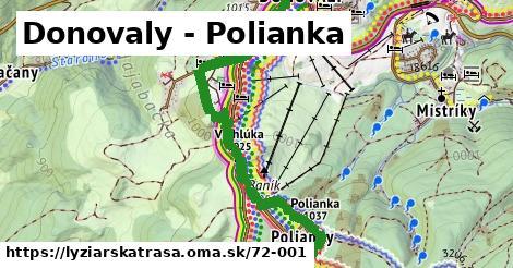 ilustračný obrázok k Donovaly - Polianka