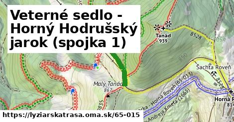 ilustračný obrázok k Veterné sedlo - Horný Hodrušský jarok (spojka 1)