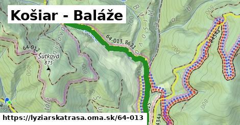 ilustračný obrázok k Košiar - Baláže