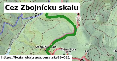 ilustračný obrázok k Cez Zbojnícku skalu