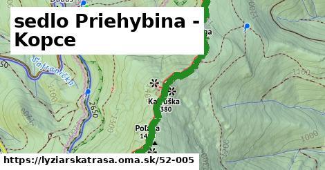 ilustračný obrázok k sedlo Priehybina - Kopce