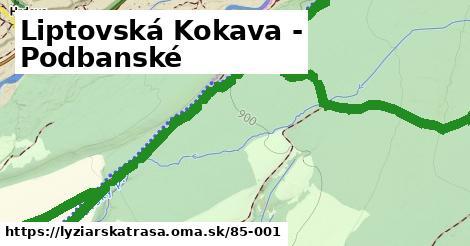 ilustračný obrázok k Liptovská Kokava - Podbanské