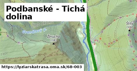 ilustračný obrázok k Podbanské - Tichá dolina