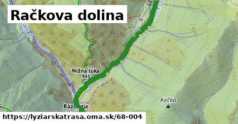 ilustračný obrázok k Račkova dolina