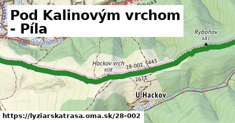 ilustračný obrázok k Pod Kalinovým vrchom - Píla