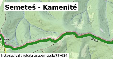 ilustračný obrázok k Semeteš - Kamenité