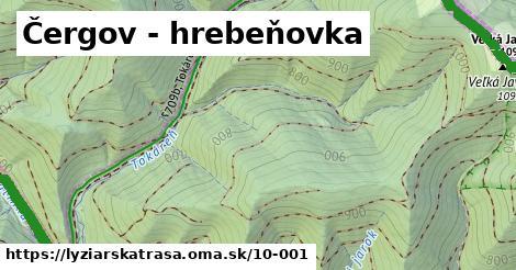 ilustračný obrázok k Čergov - hrebeňovka