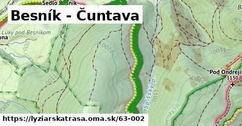 ilustračný obrázok k Besník - Čuntava