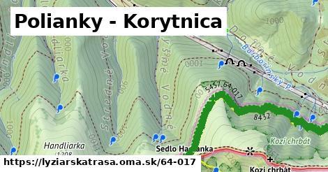 ilustračný obrázok k Polianky - Korytnica