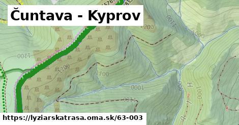 ilustračný obrázok k Čuntava - Kyprov