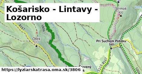 ilustračný obrázok k Košarisko - Lintavy - Lozorno