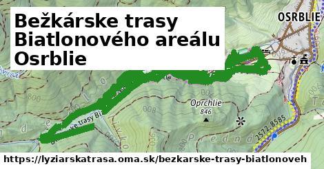 ilustračný obrázok k Bežkárske trasy Biatlonového areálu Osrblie