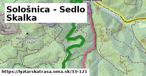 ilustračný obrázok k Sološnica - Sedlo Skalka