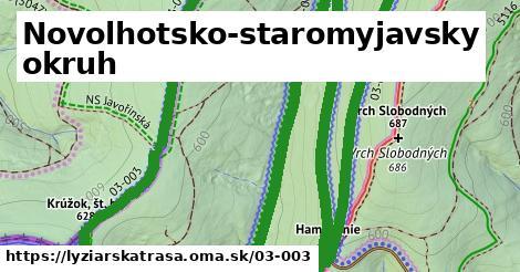 ilustračný obrázok k Novolhotsko-staromyjavsky okruh