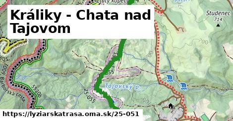 ilustračný obrázok k Králiky - Chata nad Tajovom