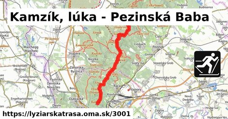 Kamzík, lúka - Pezinská Baba