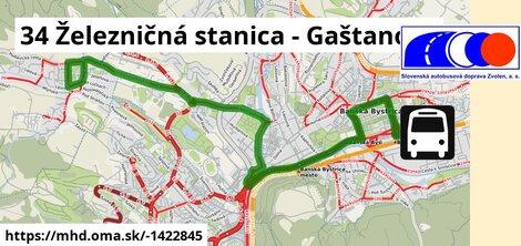 ilustračný obrázok k 34 Železničná stanica - Gaštanová