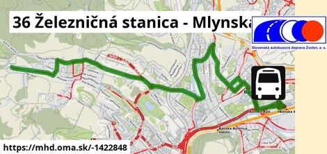 ilustračný obrázok k 36 Železničná stanica - Mlynská