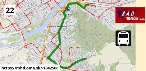 ilustračný obrázok k Bus 22: Gen. Svobodu, otoč => Autobusová stanica