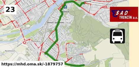 ilustračný obrázok k Bus 23: Východná, otoč => Autobusová stanica