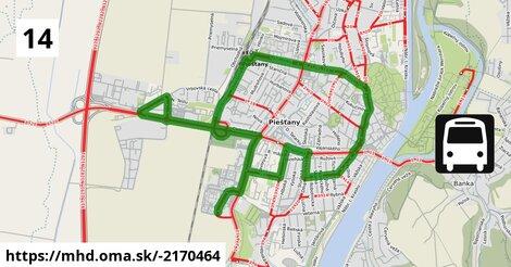 ilustračný obrázok k Bus 14: Autobusová stanica => Adam Trajan II.