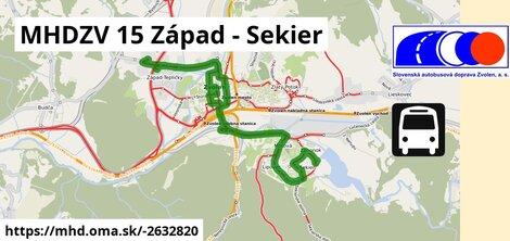 ilustračný obrázok k MHDZV 15 Západ - Sekier