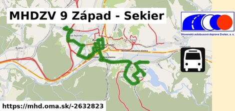 ilustračný obrázok k MHDZV 9 Západ - Sekier