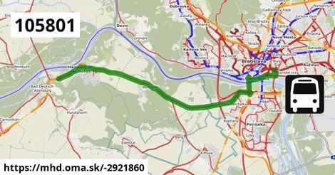 ilustračný obrázok k Bus 102829: Hainburg => Bratislava
