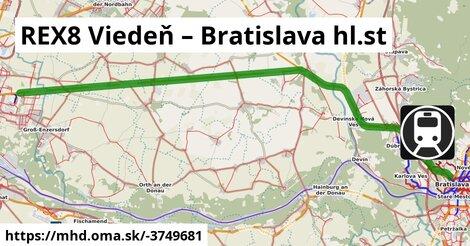 ilustračný obrázok k REX Wien – Bratislava hl.st
