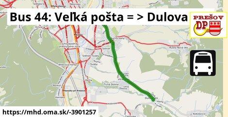 ilustračný obrázok k Bus 44: Šidlovec => Solivar