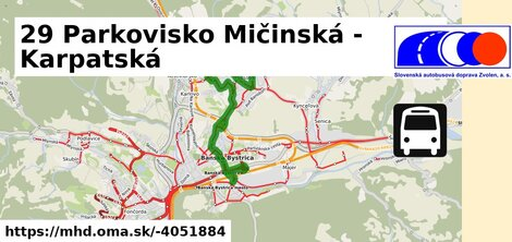 ilustračný obrázok k 29 Parkovisko Mičinská - Karpatská
