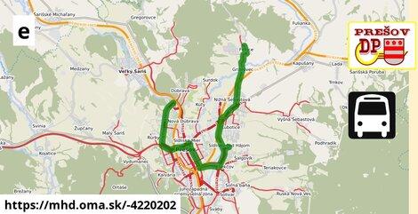 ilustračný obrázok k Bus 48: Sibírska => Sídlisko III