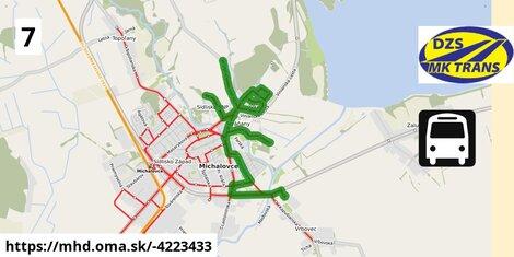 ilustračný obrázok k Bus 7: YAZAKI => Sídl. SNP via ul. SNP