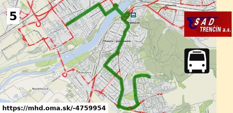 ilustračný obrázok k Bus 5: Saratovská, ZŠ => Zlatovská, VOD-EKO