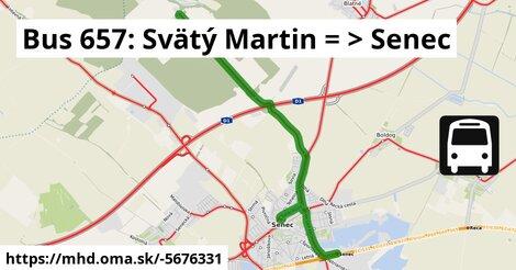 ilustračný obrázok k Bus 631: Svätý Martin => Senec