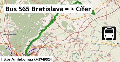 ilustračný obrázok k Bus 650: Bratislava => Budmerice