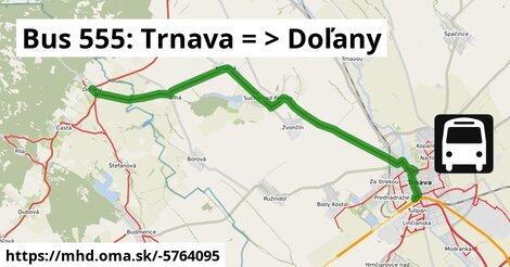 ilustračný obrázok k Bus: Trnava => Bratislava