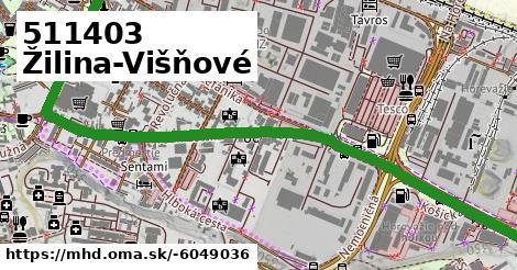 ilustračný obrázok k 511403 Žilina-Višňové
