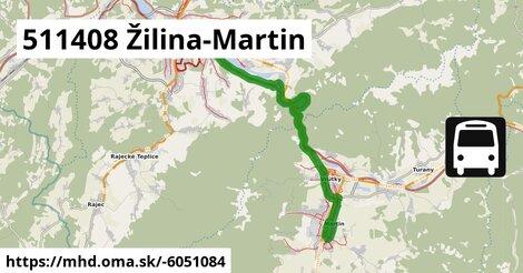ilustračný obrázok k 511408 Žilina-Martin