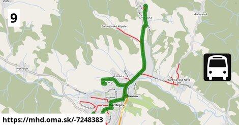 ilustračný obrázok k Sázavského - Dlhý Rad - Slovenská - Vinbarg - Dlhá Lúka