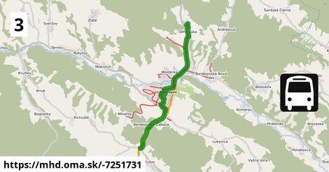 ilustračný obrázok k Dlhá Lúka - Slovenská - Tačevská - Kľušov