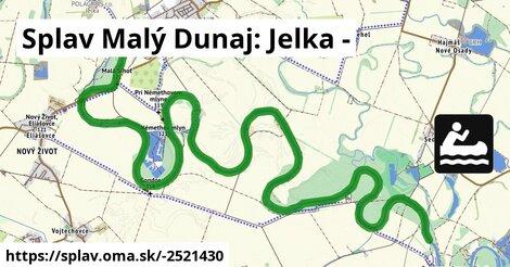 ilustračný obrázok k Splav Malý Dunaj: Jelka -