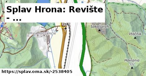 ilustračný obrázok k Splav Hrona: Revište - ...