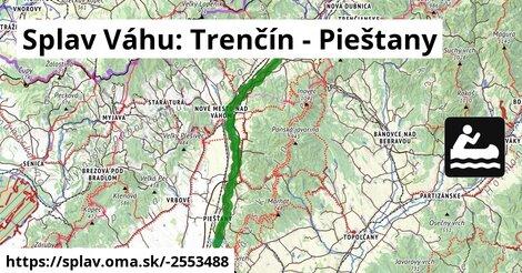 ilustračný obrázok k Splav Váhu: Trenčín - Pieštany